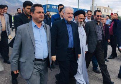 وزیر بهداشت از بیمارستان ۳۱خرداد منجیل بازدید کرد