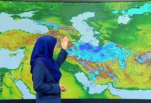تمرکز بارش برف در نواحی مرکزی و شرقی گیلان است