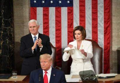 اولین واکنش ترامپ به تبرئه شدن در سنا: پیروزی بزرگ