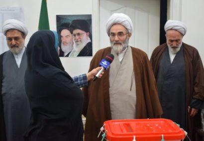 اقتدار انقلاب اسلامی به حضور مردم در انتخابات است | نماینده باید مومن به انقلاب و نظام اسلامی باشد