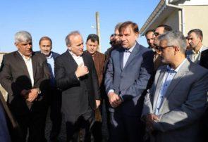 افتتاح پروژه تقویت و توسعه شبکه برق و تصفیهخانه فاضلاب ۷۶ واحدی مسکن مهر سیاهکل