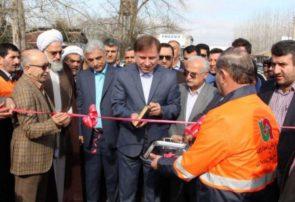افتتاح سه پروژه صنعتی و عمرانی در صومعه سرا با حضور استاندار گیلان