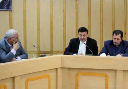 جلسه ستاد پیشگیری، هماهنگی و فرماندهی عملیات پاسخ به بحران به ریاست استاندار گیلان