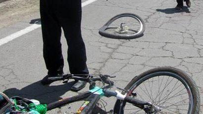 مرگ دوچرخه سوار در رشت بر اثر برخورد با پراید