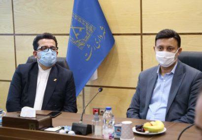 حاج محمدی در دیدار با سفیر جدید ایران در جمهوری آذربایجان؛ رشت مردم زنده دلی دارد و این مهم می تواند جاذبه بسیار خوبی برای مردم آذربایجان باشد