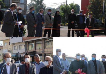افتتاح پروژه های عمرانی شهرداری لاهیجان در هفته دولت