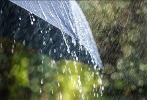 بارش باران یک روزه در گیلان